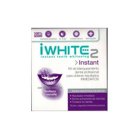 IWHITE 2 INSTANT Kit Blanqueador Dental 10 ml