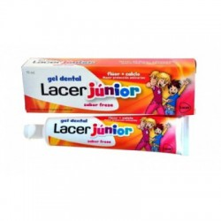 Gel Dental Lacer Junior Fresa 50 ML