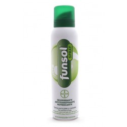 FUNSOL DESODORANTE PIES Y CALZADO, SPRAY 150ml.
