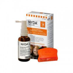 NYDA Pediculicida Spray 50ml + Liandrera