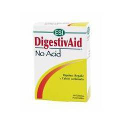 DigestivAid No Acid ESI 12 Tabletas Masticables