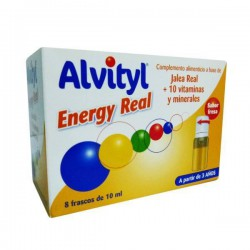 Alvityl Energy Real 8 Frascos de 10 ml