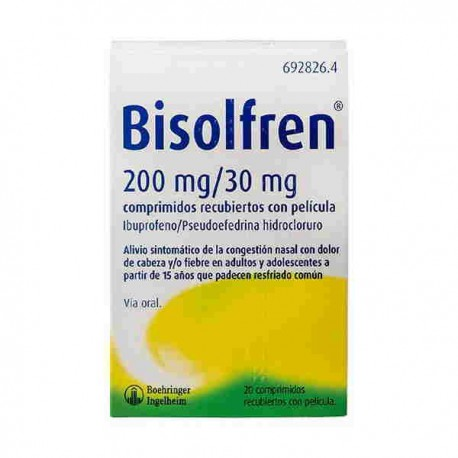 Bisolfren 200mg /30mg