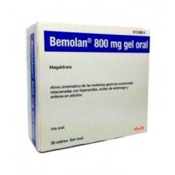 Bemolan 800 mg Gel 30 sobres