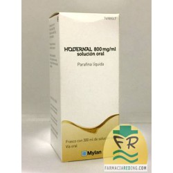 Hodernal 800 mg/ml Solución Oral 300 ml