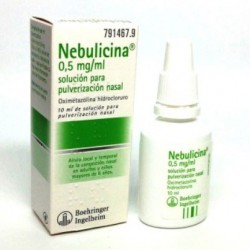 Nebulicina Adultos 0,5 mg/ml Nebul. Nasal 10 ML