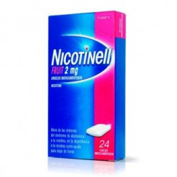 Nicotinell Fruit 2 mg 24 Chicles