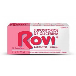 Rovi Lactantes 10 Supositorios