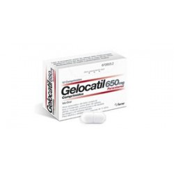 Gelocatil 650mg